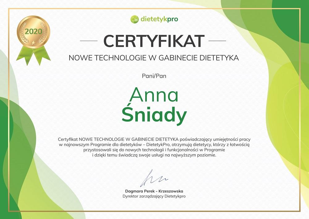 Certyfikat-ASniady
