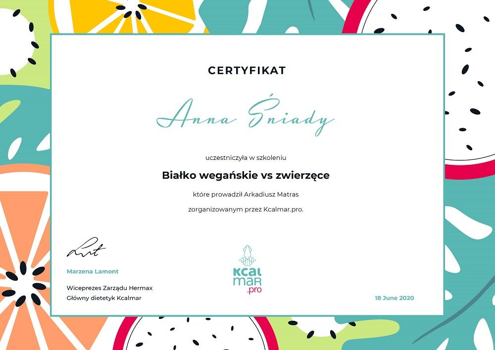 certyfikat-Bialko